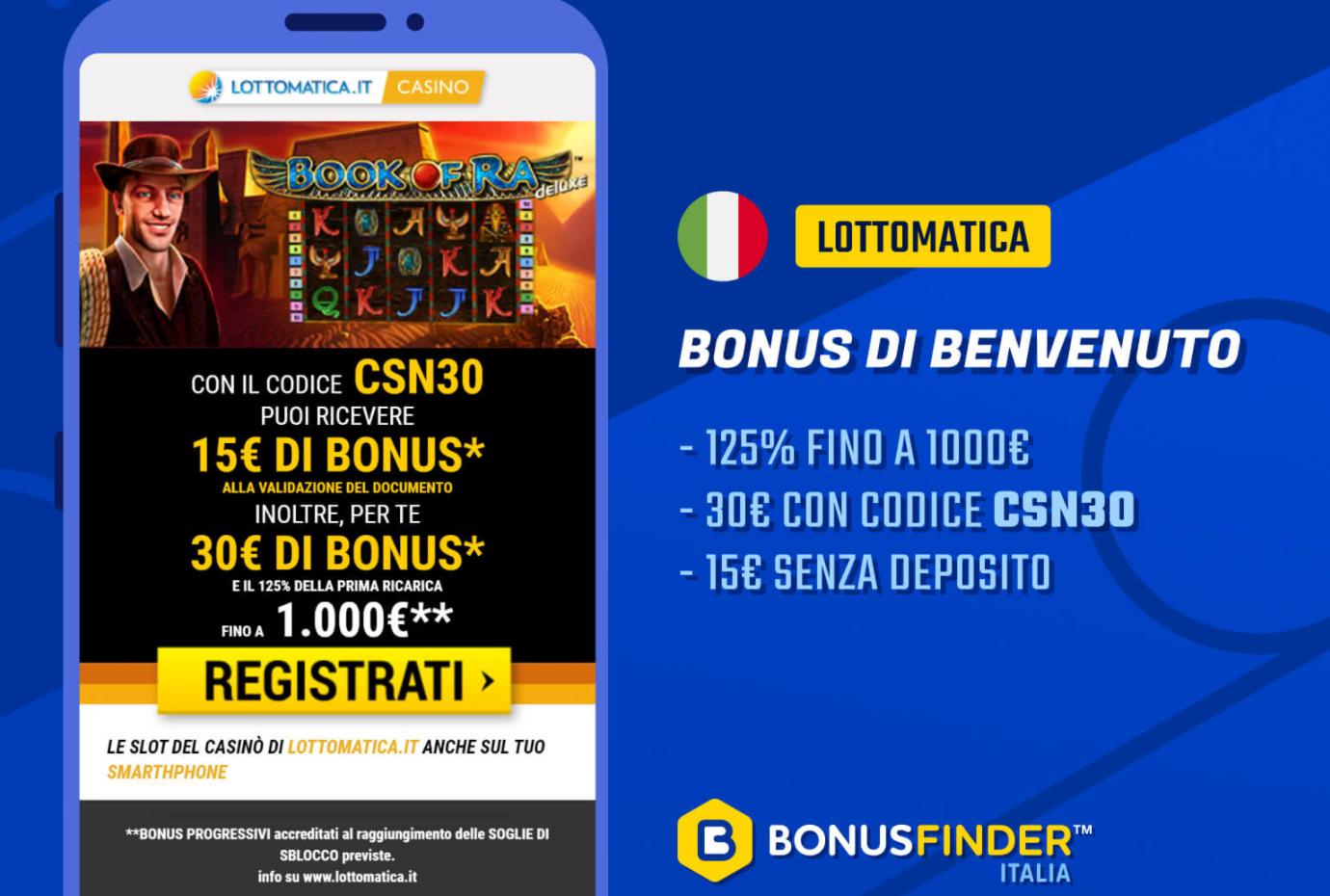 Italia accesso Lottomatica